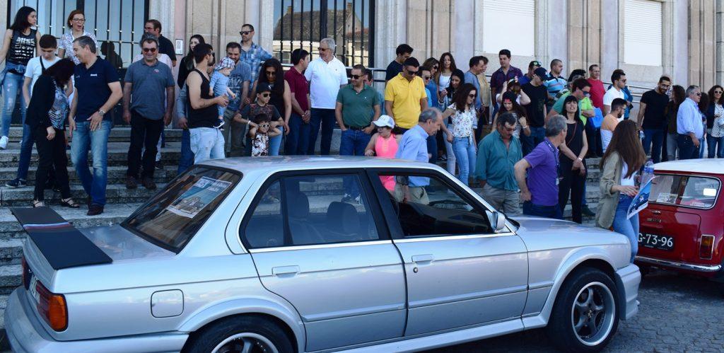 PASSEIO DOS CLÁSSICOS DA ESCOLA PROFISSIONAL DE TONDELA animou as estradas e recantos da região