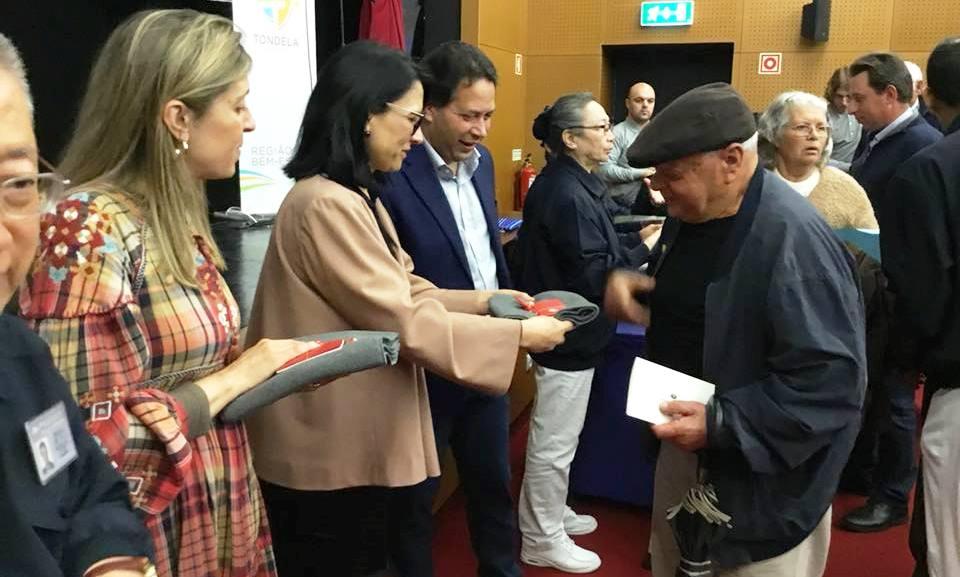 FUNDAÇÃO TAIWANESA ENTREGOU DONATIVOS a vítimas de incêndios de Outubro do ano passado