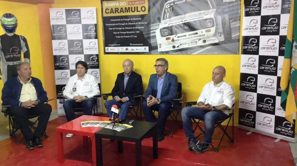 RAMPA DO CARAMULO espera um maior número de visitantes