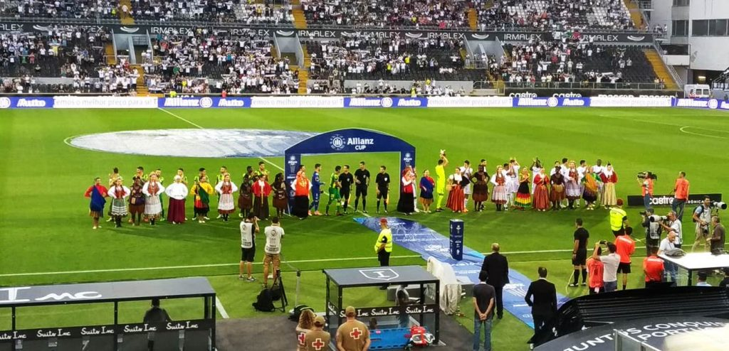 O TONDELA QUEBROU O ENGUIÇO ao apurar-se para a fase de grupos da Taça da Liga