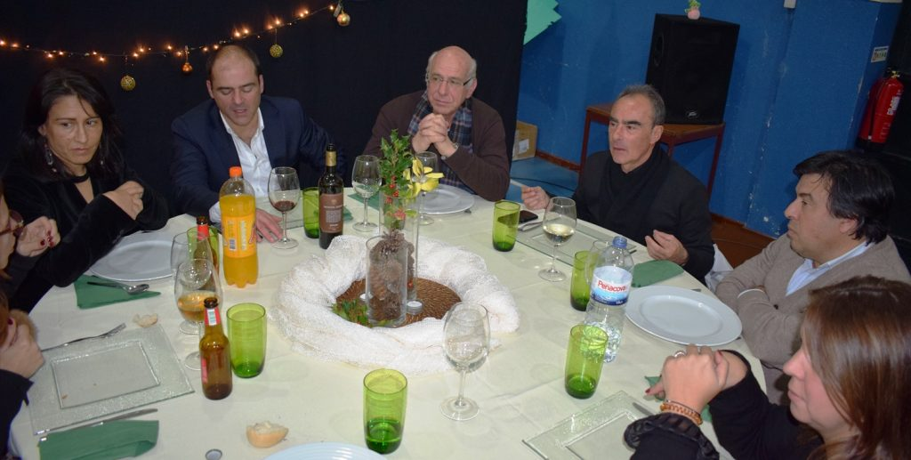 ESCOLA PROFISSIONAL DE TONDELA em alegre jantar de Natal