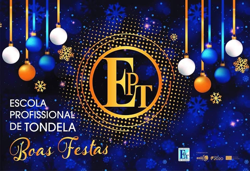 Mensagem de Boas Festas da Escola Profissional de Tondela