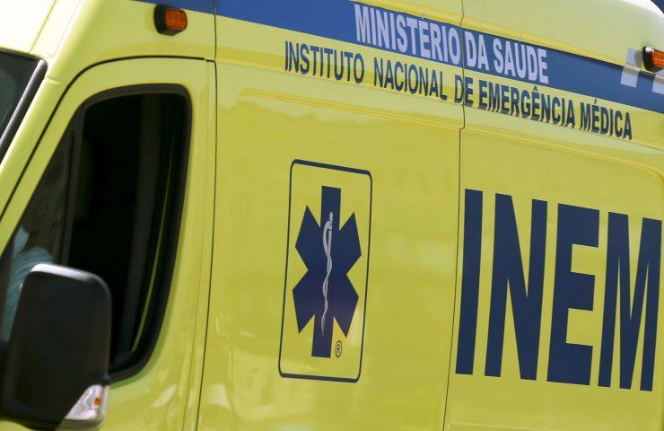 DESPISTE NUMA PEDREIRA PROVOCA UM FERIDO GRAVE em Caparrosa (Tondela)