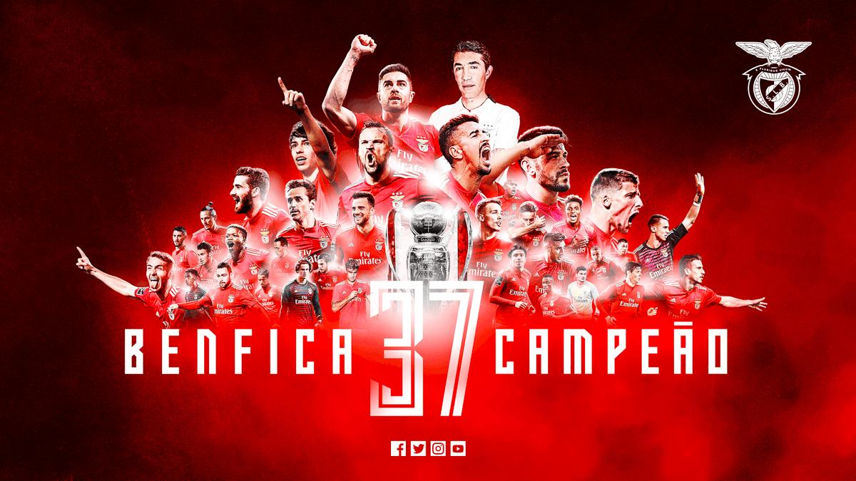 BENFICA É CAMPEÃO PELA 37.ª VEZ !!