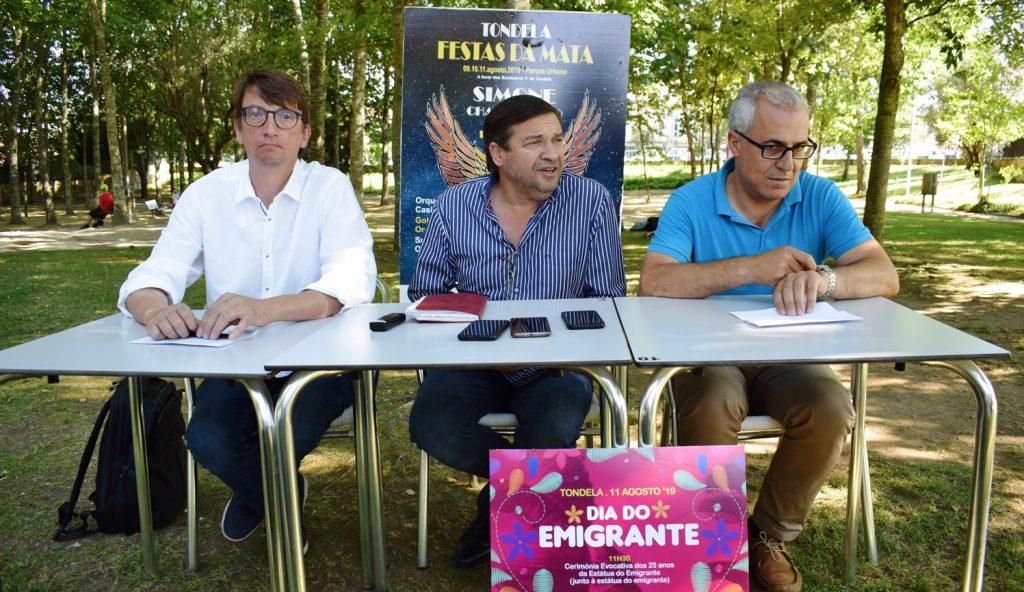 FESTAS DA MATA DE TONDELA com Simone e um Dia do Emigrante