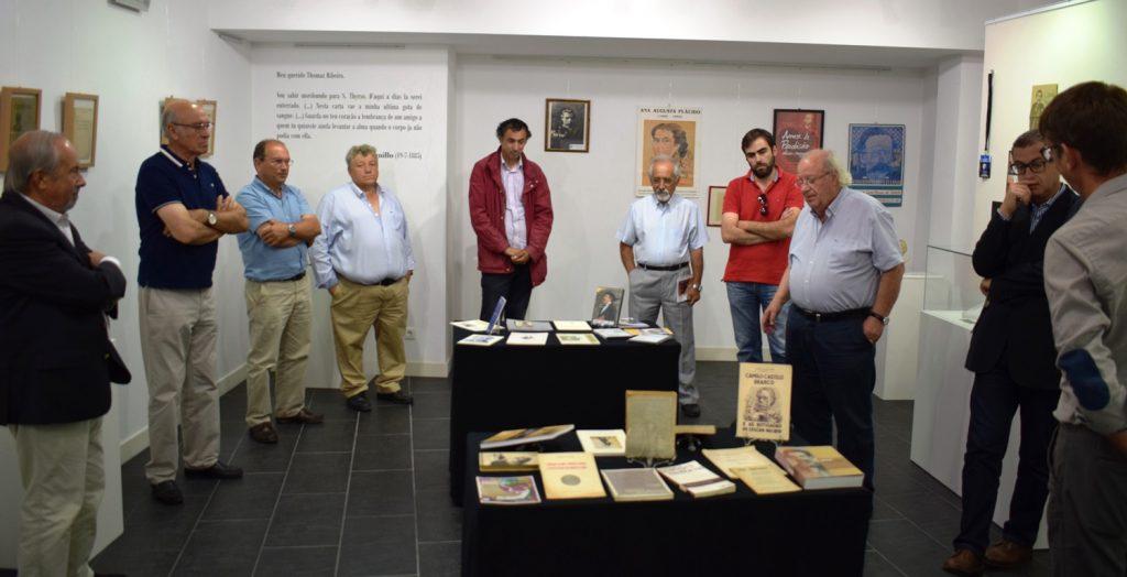 CAMILO CASTELO BRANCO REVISITA TOMAZ RIBEIRO em exposição no Museu Terras de Besteiros
