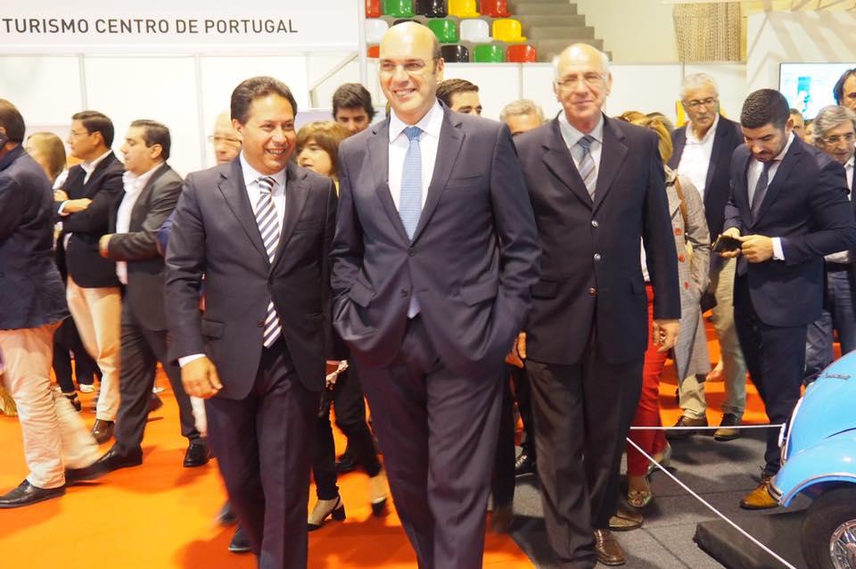 EXEMPLO DE DINAMISMO ECONÓMICO DE TONDELA salientado pelo ministro Siza Vieira na inauguração da FICTON