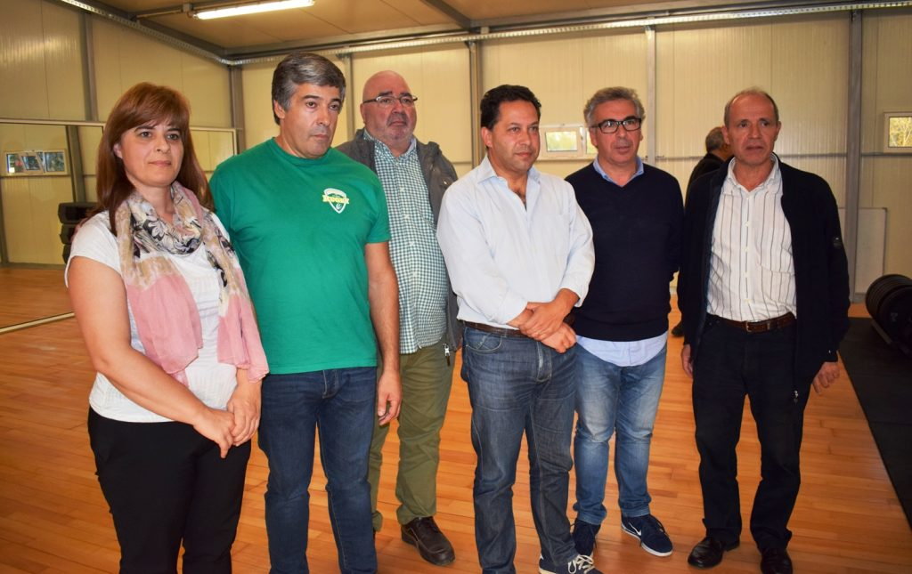 RUGBY CLUBE DE TONDELA COM GINÁSIO INAUGURADO