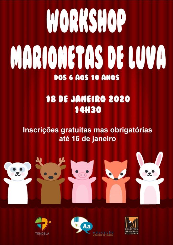 MARIONETAS DE LUVA NA BIBLIOTECA MUNICIPAL DE TONDELA